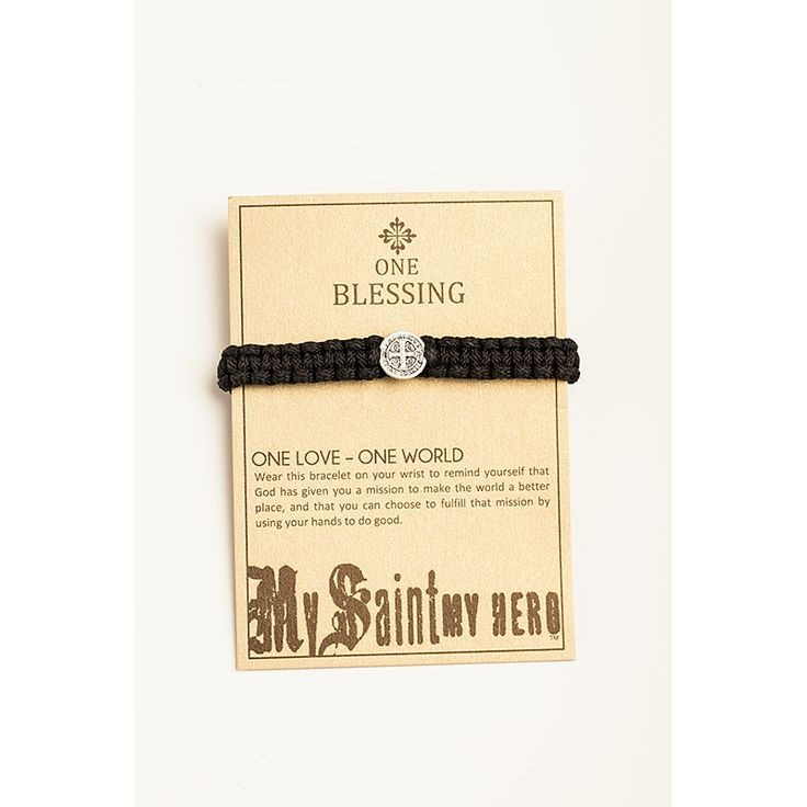 ONE Blessing Bracelet | My Saint My Hero Valentine's Day Gifts for Him