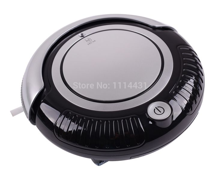 Free Shipping Robot Mini Vacuum Cleaner For Home (Vacuum,Sweep,Mop),Removable 2 Side-brushes,Flashing LED Lights,3 Working Modes