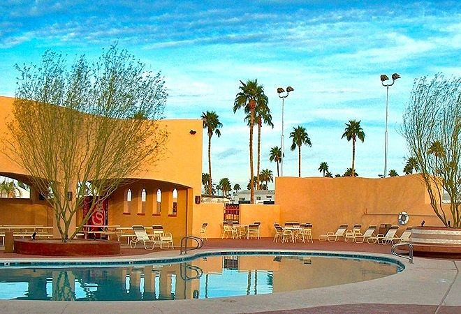 Desert Holiday RV Resort In Yuma AZ Is A Super Good Sam Park