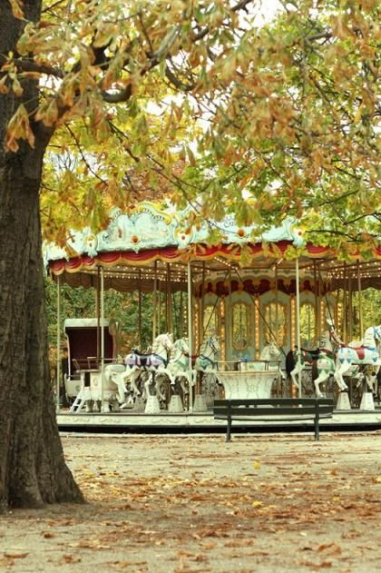 Carousel at the Tuileries Garden