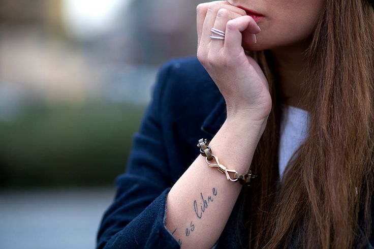 The Fashion Fruit paige denim, lol bracelet, kurt geiger