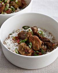 Slow Cooker Coconut Pork Curry. Sounds delish. I am going to try this tonight.