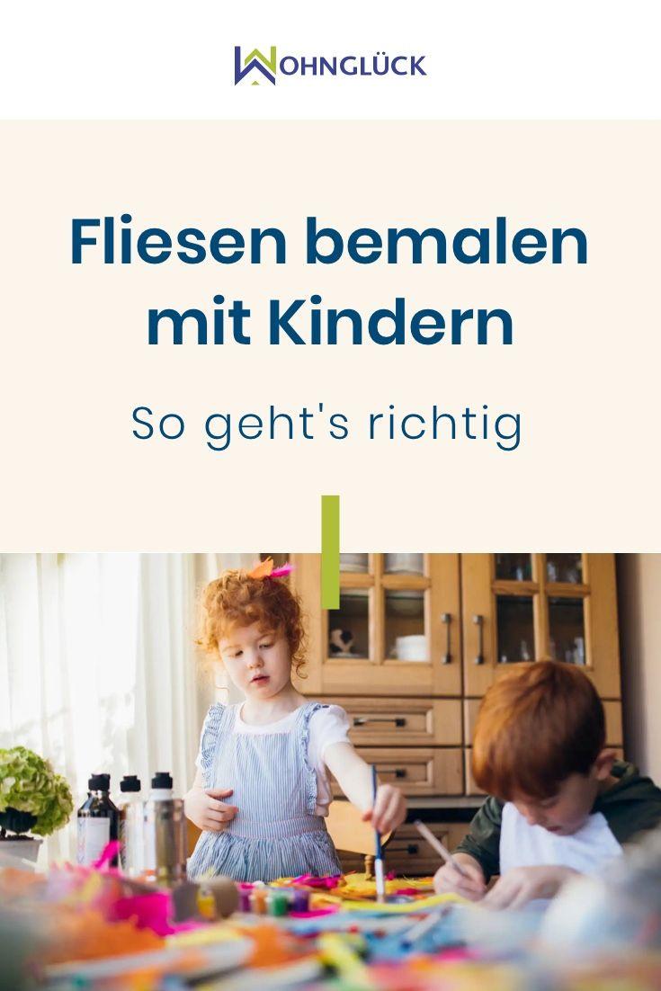 Fliesen Bemalen Mit Kindern Schritt Für Schritt Anleitung Für Groß Klein Kinder Fliesen Spielideen Für Kinder