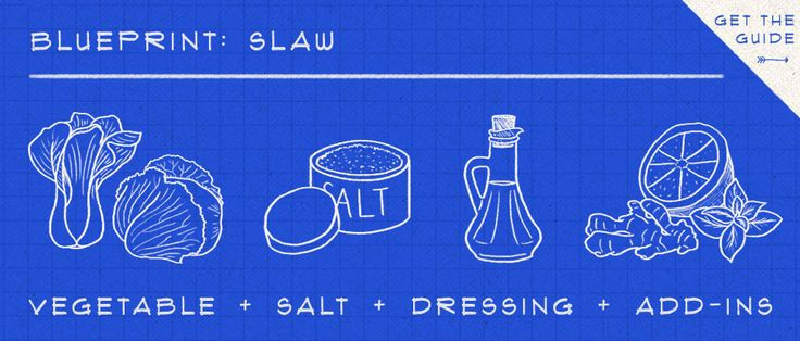 * pickle juice * learn to shred, chop and grate the right way with our blueprint for making coleslaw.