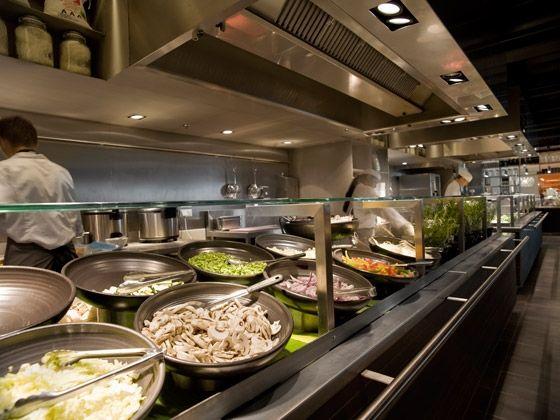 De bijenkorf kitchen concrete kitchens and buffet for Food bar kitchen jkl