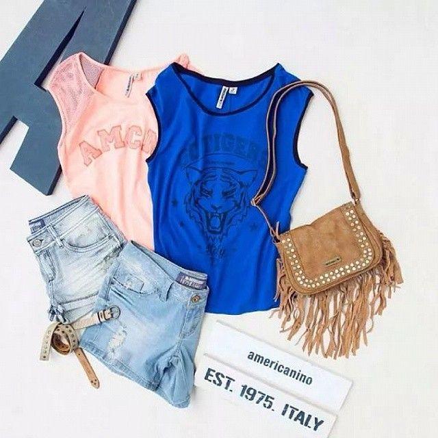 Para las mujeres que buscan comodidad y buen estilo #Tshirt #bag #jeans #bluejeans #blue #pink #Mujer #women #latina #fashion #moda #bucaramanga #cccuartaetapa Americanino
