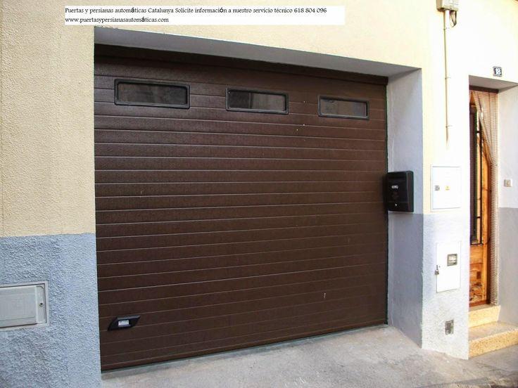 Las 25 mejores ideas sobre puertas de garaje automaticas - Puerta de garaje automatica ...
