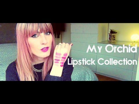 MichelaIsMyName: My Orchid Lipsticks | MICHELA ismyname ❤️