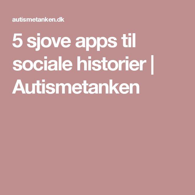 5 sjove apps til sociale historier | Autismetanken