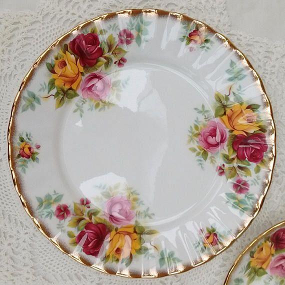 Royal Stafford Bouquet Bone China Plate