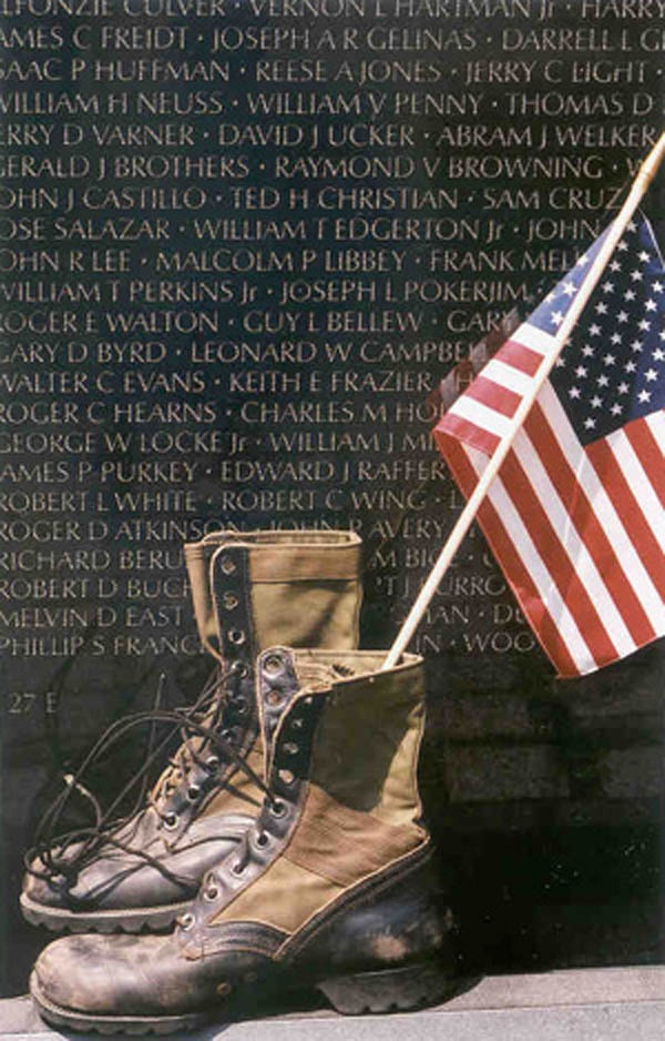 Vietnam Veterans Memorial Wall | I remember visiting the wall as a boy with my father who served as United States Marine in Vietnam in 1968 and 1969. It was an emotional, memorable experience to say the least. | Thank God for our #veterans