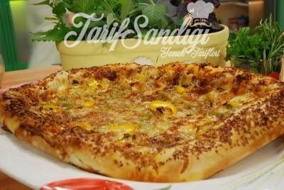 Susamlı Zeytinli Pizza Tarifi