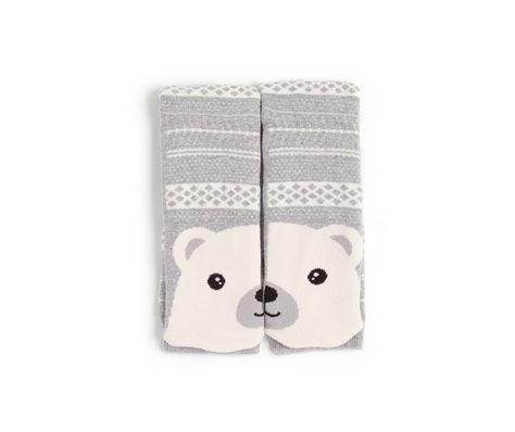 Bear pattern long socks - OYSHO