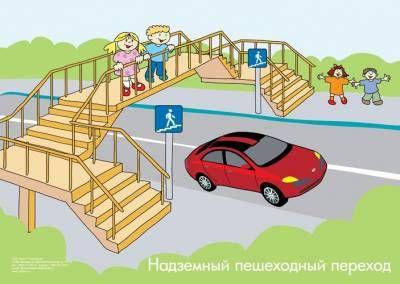 Криворожская общеобразовательная школа І-ІІІ ступеней №103 - ПДД в картинках и стихах