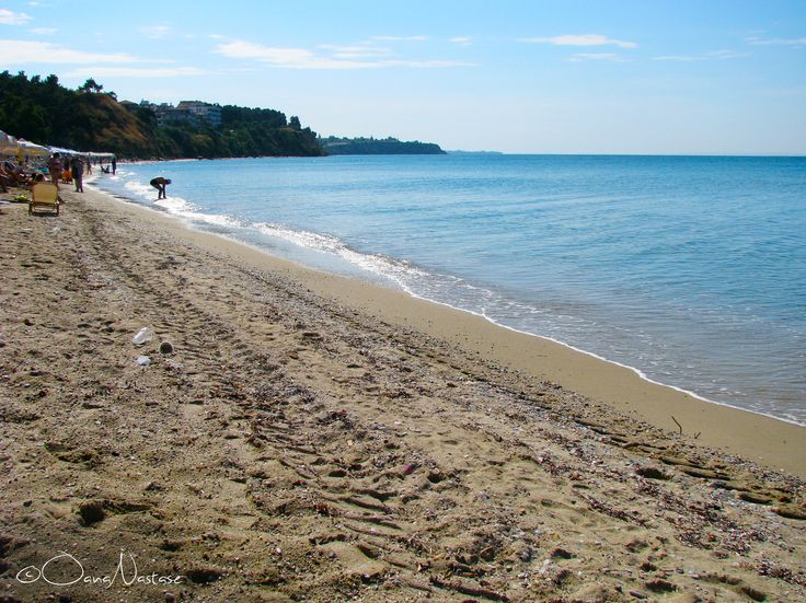 Ελλάδα (Greece), Halkidiki,  Nea Kallikratia, beach, sun, sea