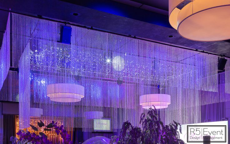 Stunning Crystal chandelier, custom made to dazzle over the dance floor! By R5 Event Design