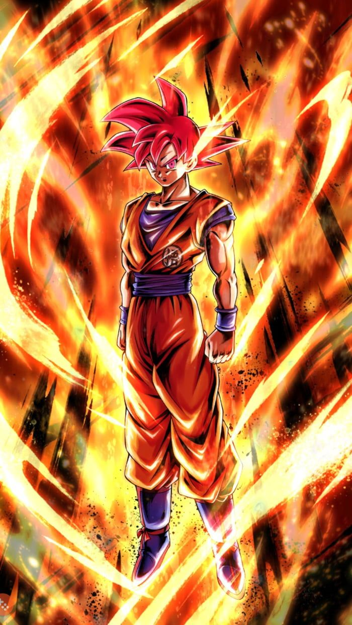 Super Saiyan God Goku Dragonball Legends Dragon Ball Super Goku Goku Super Saiyan God Dragon Ball