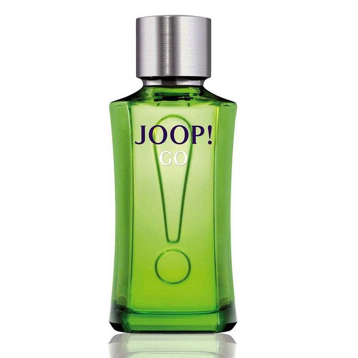 JOOP GO EAU DE TOILETTE The smell of Joop Go Eau De Toilette is sturdy, tough and nice and fresh, in our opinion ideally suited for each spring Joop Go Eau De Toilette opens cool thanks to the use of frozen rhubarb, paprikabes and orange. Geranium is also an important ingredient of Joop Go Eau De Toilette. This energy you see immediately come back in the bottle and packaging: frog green and metallic accents.