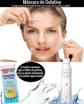 Juro Valendo - Máscara de gelatina: uma máscara mágica que tem efeito tensor e garante a pele esticadinha por umas boas horas!