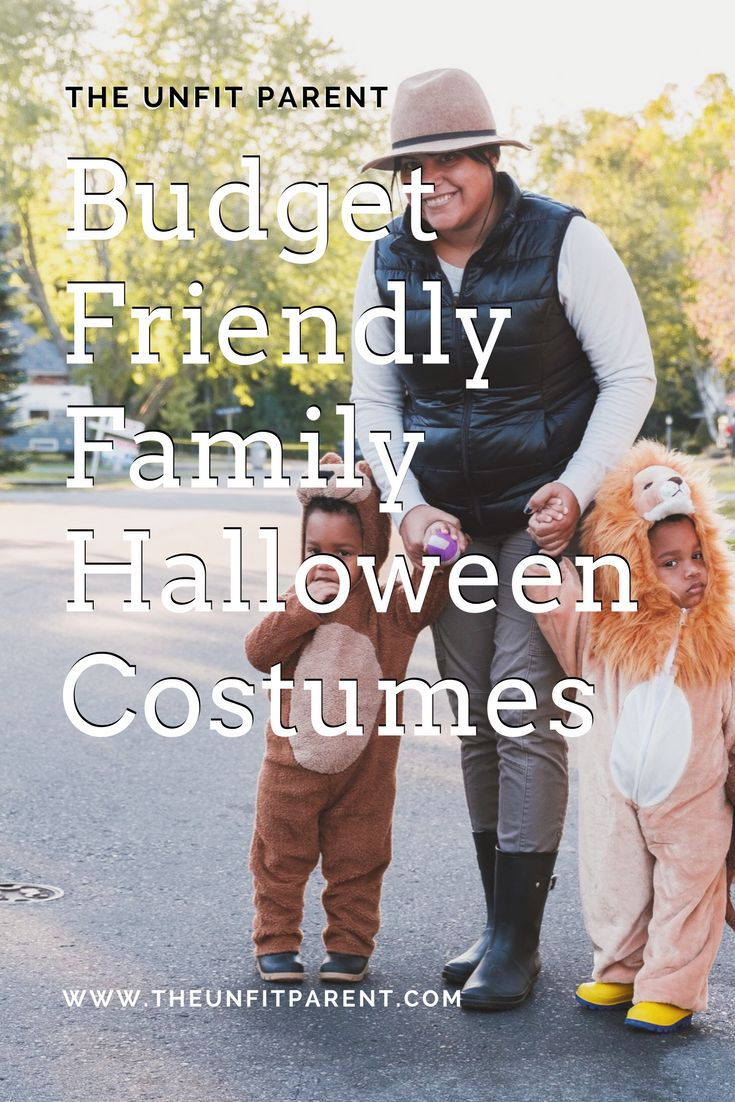 We teamed up with Walmart to show you how simple and fun it is to find budget friendly family halloween costumes! #halloweenforless #ad