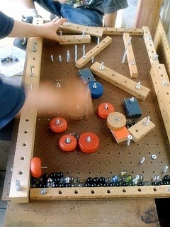 homemade pinball game #fathersday #game linked to today's mama on 6/9 http://dallas.todaysmama.com/2011/06/fathers-day-crafting-3/