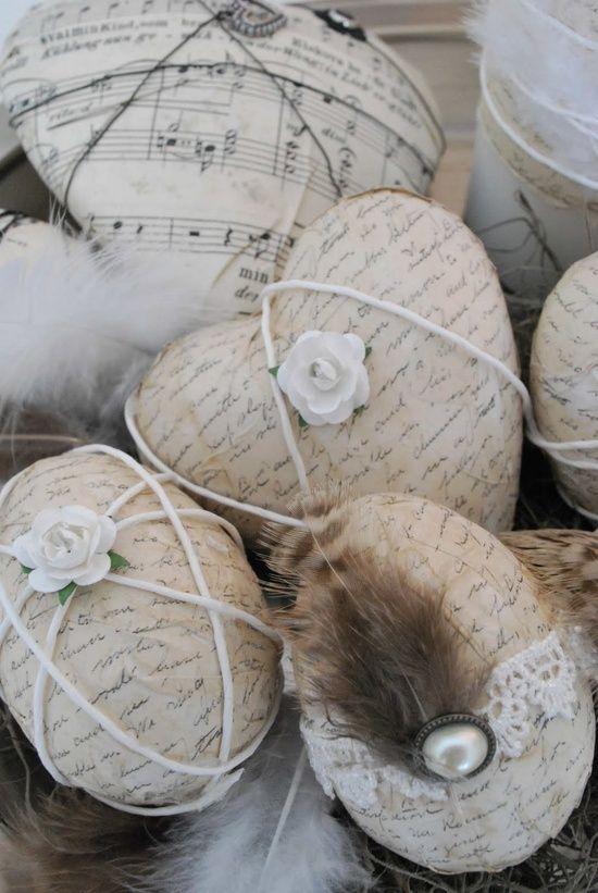Duka och dekorera för Påsk « Handarbete & Pyssel | Inspiration Handverkarna.se | pyssla pyssla hobby sticka virka sy hantverk papperspyssel brodera smycken sömnad handverk