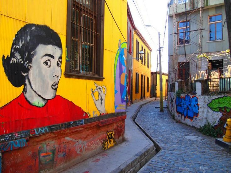 Scenes from Chile: Santiago and Valparaiso's Street Art | CN Traveler, May 13, 2013. Photo: Valparaiso, #Chile, street art