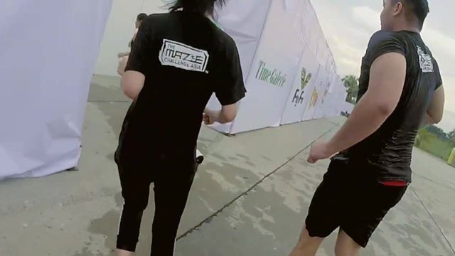 The Maze Challenge Asia | The Junkies were involved with the cameras.