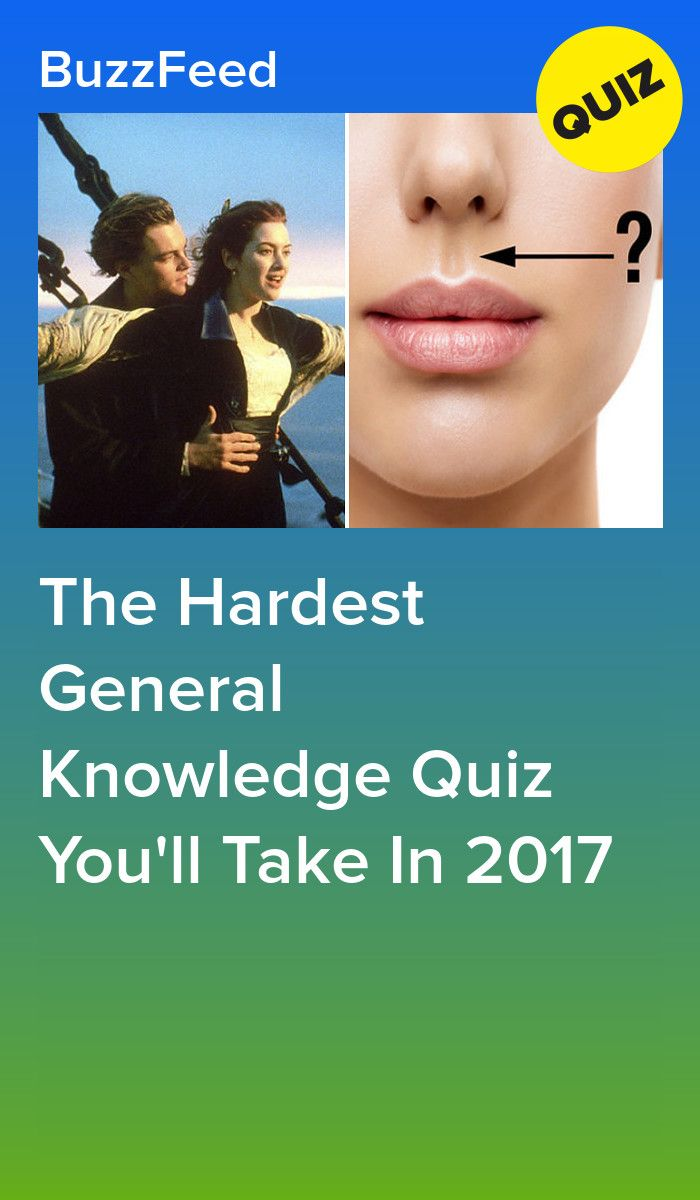 The Hardest General Knowledge Quiz You Ll Take In 2017 With