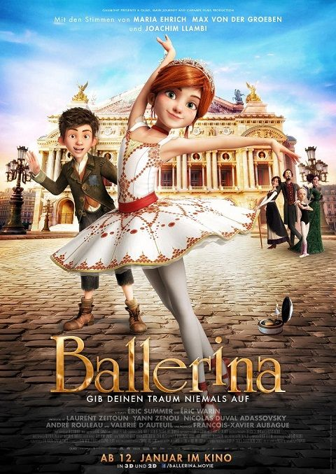 47 Best Leap/Ballerina Movie Printables Images On
