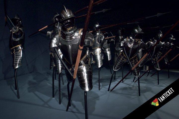 HEAVY METAL – Aseita ja haarniskoja. Levyhaarniskoja, kypäriä, hilpareita, miekkoja… Kansainvälisesti merkittävä näyttely vie Habsburgien aikaan ja taisteluiden tuoksinaan