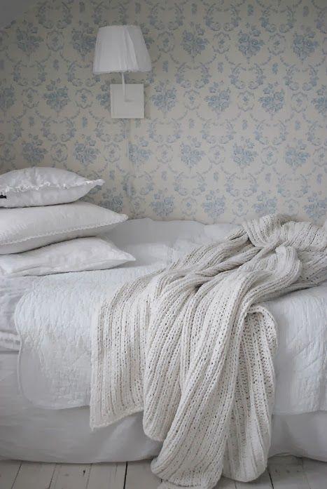 serene, white bedroom