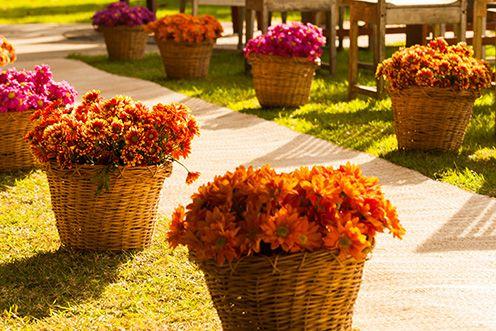Decoração-flores-cor-de-rosa-e-laranja1.jpg (496×331)