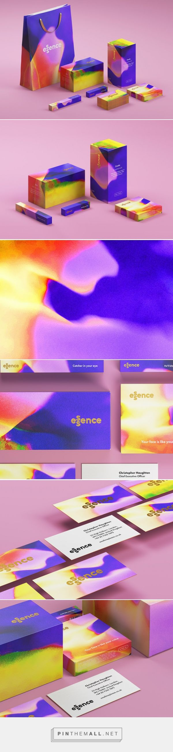 Essence #cosmetic #perfume #packaging designed by The Bold Studio - http://www.packagingoftheworld.com/2015/07/essence.html