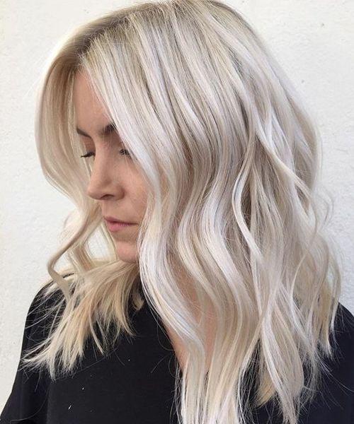 Riesige platinblonde Bob-Frisuren für Frauen, die sich 2019 zeigen sollen