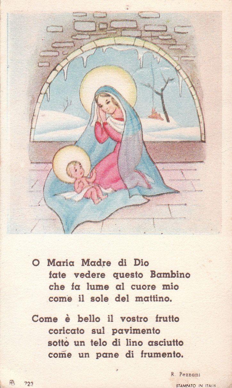 S3- SANTINO R. PEZZANI PREGHIERA A VERGINE MARIA   eBay