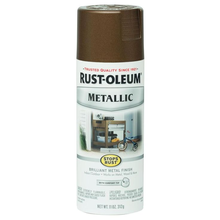Rust-Oleum Stops Rust 11 oz. Vintage Metallic Dark Copper Protective Enamel Spray Paint (Case of 6)