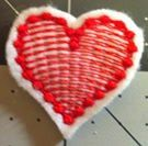 Heart Patch/Applique Iron On 1.5 X 1.25