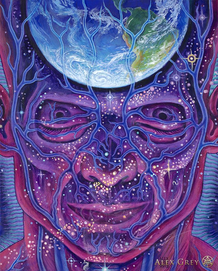 Earthmind Alex Grey  If only we could get into that connection /contribution our Earth wouldn't be ravaging the way whe suffer this days.