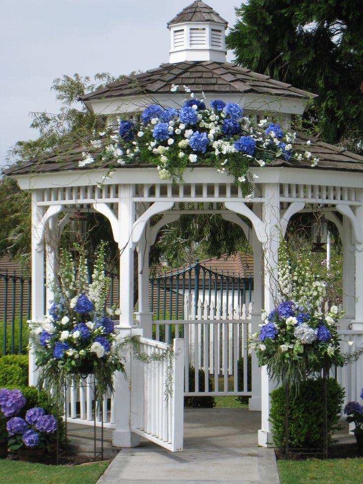 outside wedding gazebo-beautiful, but why are all the gazebos called wedding gazebos?