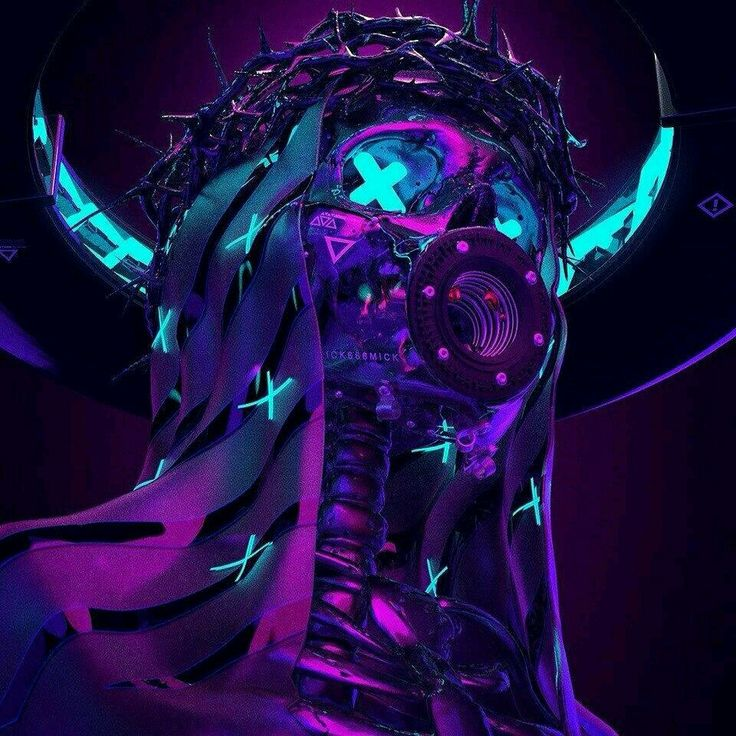 Cyberpunk aesthetic image by Gabriel Munoz on abyss Neon