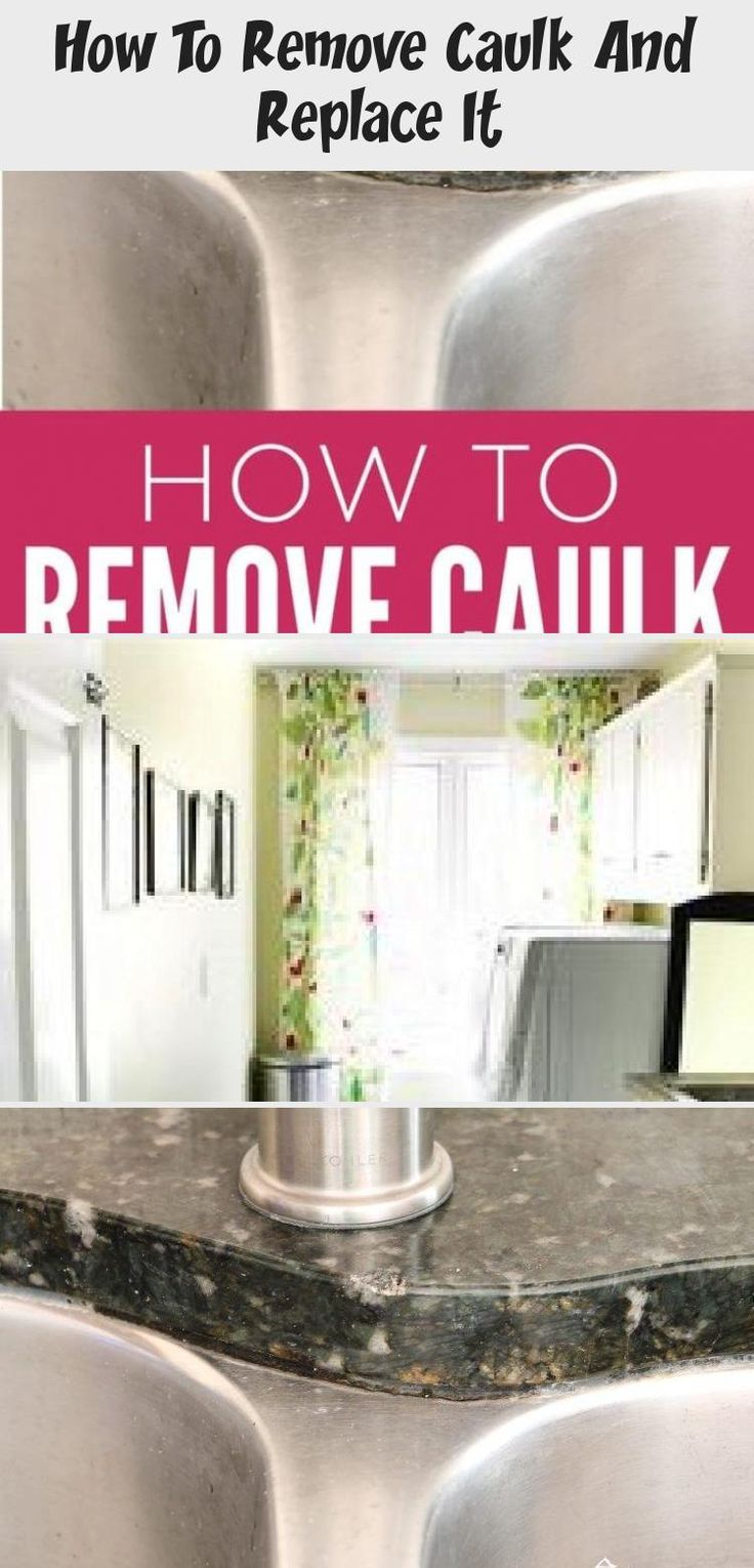 How To Remove Caulk And Replace It (With images) Cheap