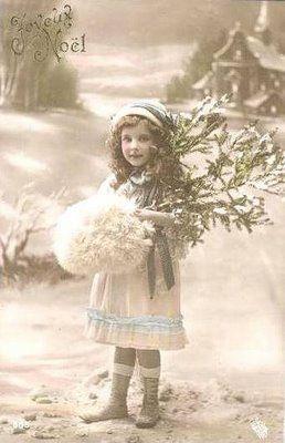 Julkort Vintage Christmascard