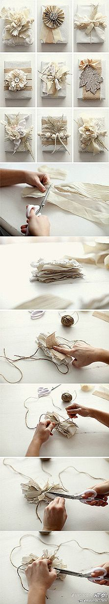 How to make a scrappy gift bow (if you can fill in the blanks)