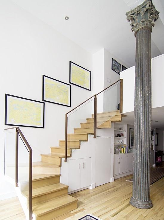 Glass Staircase Railing Design Via Houzz