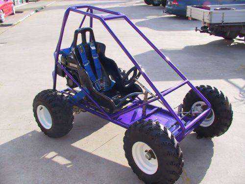 Custom Go Kart Frames   Trax II Offroad Mini Dune Buggy Sandrail GO Kart Plans   eBay
