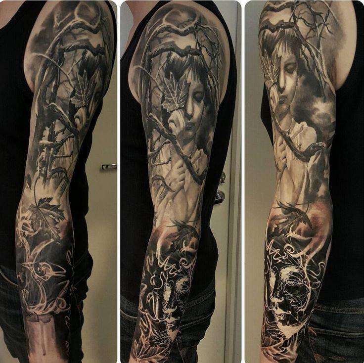 Created by JP Wikman | Tattoo.com Sleeve tattoo