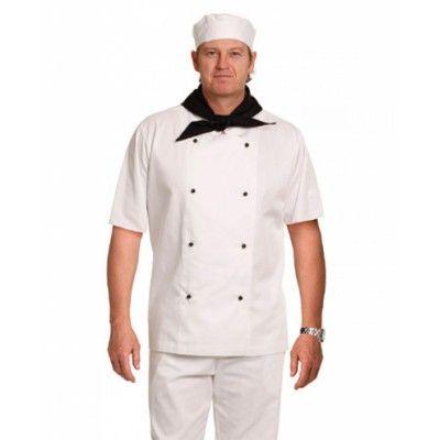 Chef`s Jacket Chef`s Jacket Short Sleeve Colours : Black   White Hospitality & Lifestyle / Chef`s Chef`s Jacket Short Sleeve - (CJ02_WS_win) Chef`s Jacket Short Sleeve Colours : Black   White Hospitality & Lifestyle / Chef`s.