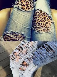 calça jeans rasgadinha - Pesquisa Google