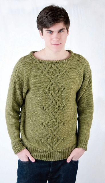 Ravelry: Celtic Cables for Him (C200) pattern by Melissa Leapman